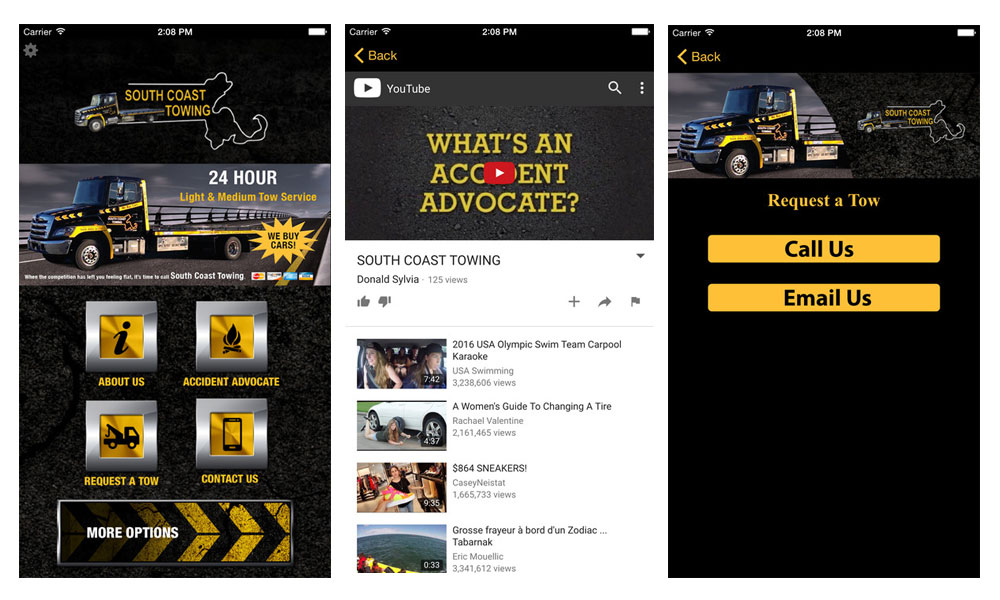 South Coast Towing App Download